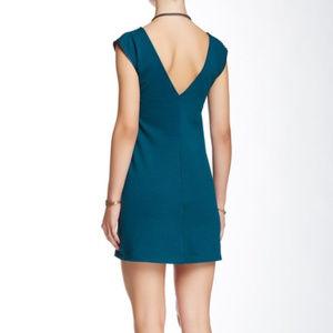 Free People Dresses - NWT Free People Oslo Blue Zipper Dress Sz S